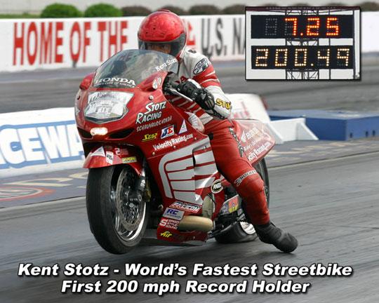 Stotz Racing ProStreet Blackbird for sale: and Kent comes