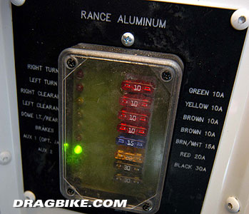 06trailer09 rance aluminum motorcycle trailer dragbike com trailer fuse box at panicattacktreatment.co