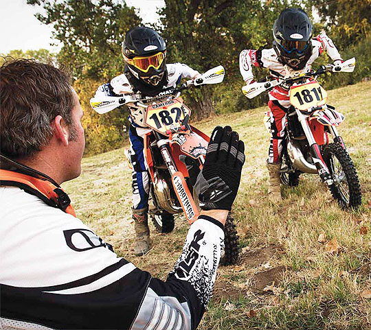 ... Mich., which builds competition level mini motocross bikes, ...