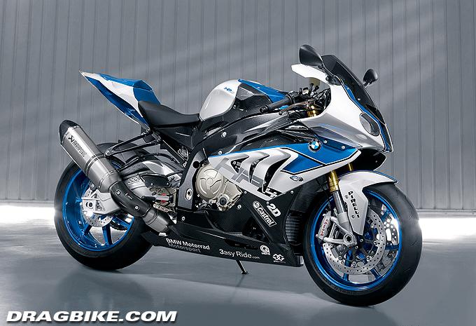 Bmw Pure Performance With The New Hp4 Dragbike