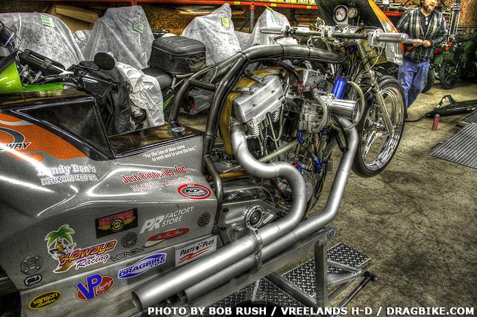 Vreeland harley Davidson Topfuel Motorycle