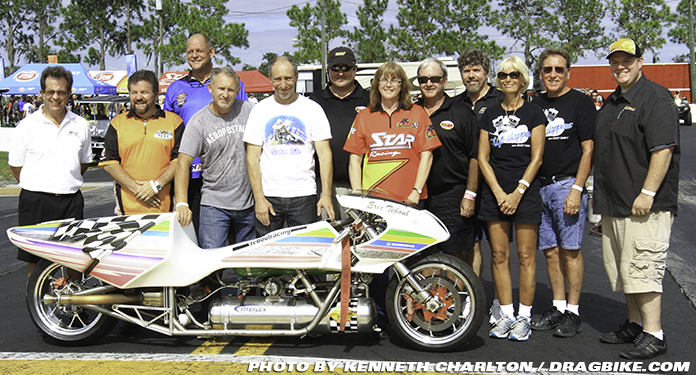 Eric Teboul Rocket Bike Manufacturers Cup 2013