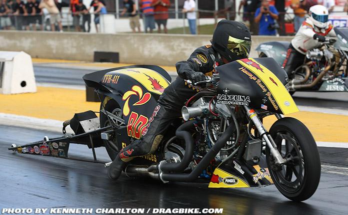 Ricjey House Top Fuel Motorcycle Drag Racing