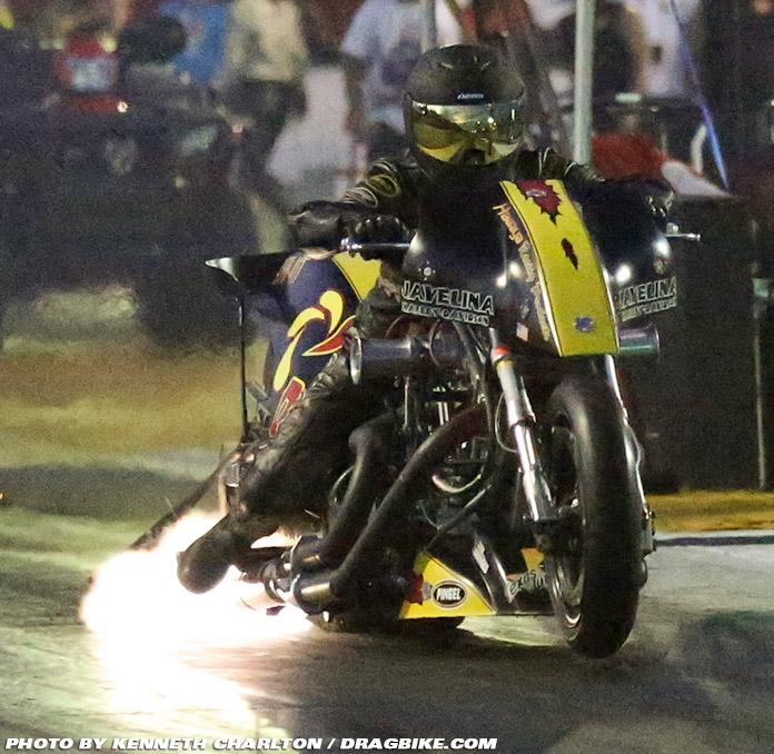 Rickey House Top Fuel Motorcycle Drag Racing