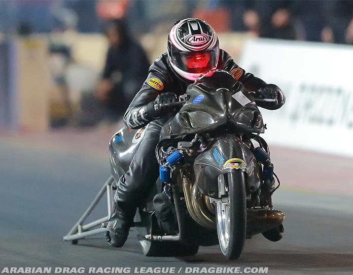 Qatar Arabian ADRL Motorcycle Drag Racing