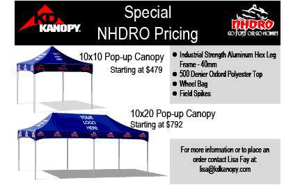 sc 1 st  Dragbike.com & NHDRO : Announces KD Kanopy as Official Canopy for 2014 | Dragbike.com