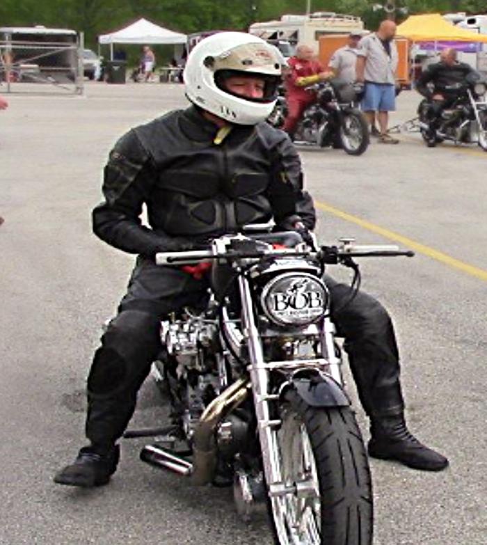 Tim G on Bike