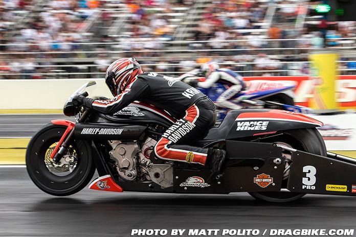 Eddie Krawiec Vance and Hines Harley-Davidson