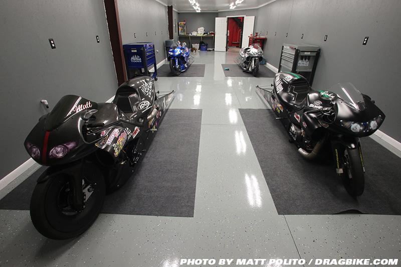Matt Smith Racing Shop Tour   Dragbike.com