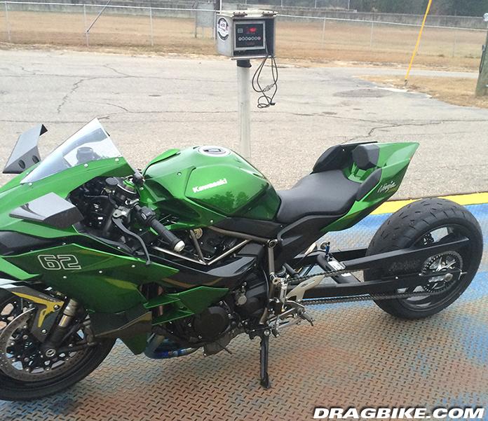 Kawasaki Ninja H2 Hybrid The Rickey Gadson Version