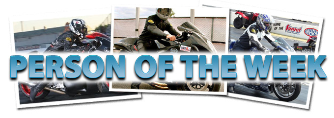 Dragbike com Person of the Week