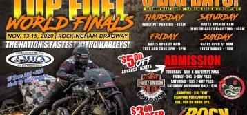 AMRA: 2020 Jim McClure Top Fuel World Finals