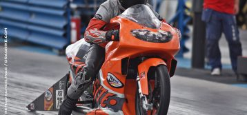 Kenneth Holmberg Claims his First EDRS Pro Stock Motorcycle Title