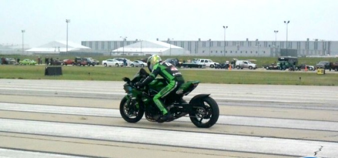 Rickey Gadson Breaks the First Land Speed Record with a Ninja H2