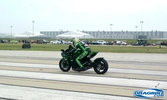 Rickey Gadson - Kawasaki Ninja H2