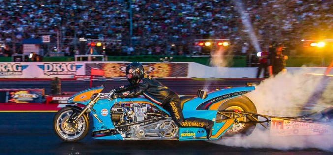 Gulf Oil Dragracing on Discovery Channel