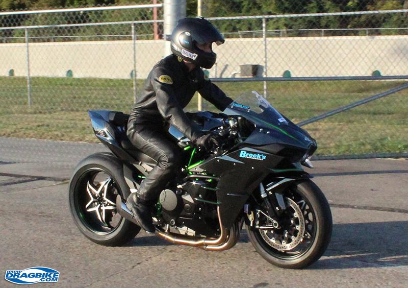 Jeremy Teasley Kills It On The Kawasaki Ninja H2 Dragbikecom