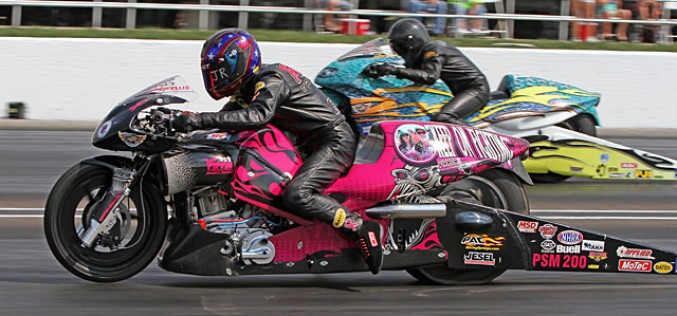 Ellis and Pippin Qualify #1 for NHRA U.S. Nationals