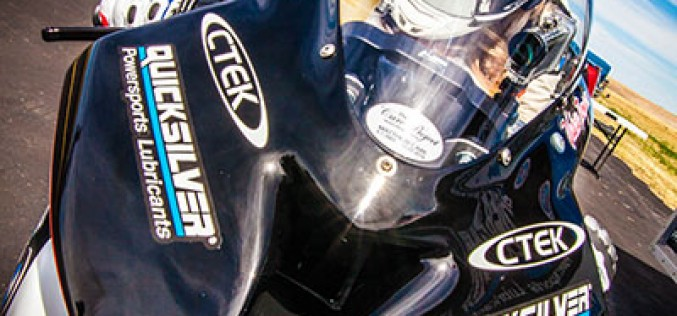 Valerie Thompson first female member of Colorado Mile 200 MPH Club