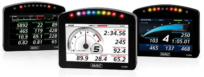 Drag Racing Data Logger Dash : Schnitz racing motec c dash kit for the suzuki