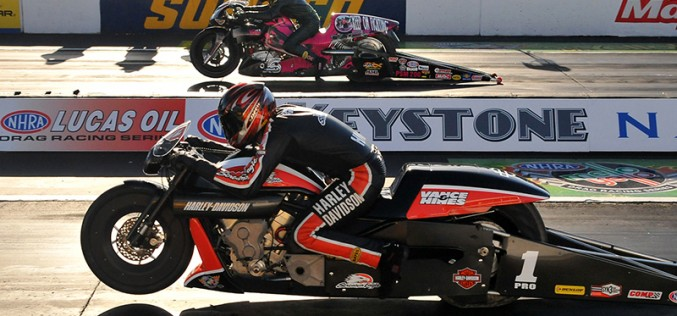 Harley-Davidson V-Rod Powers Andrews to Another Win