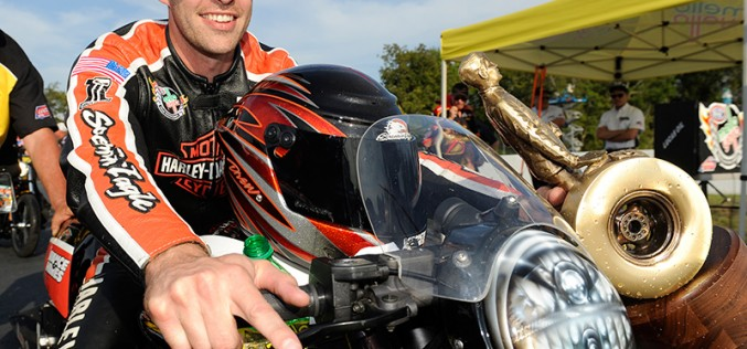 NHRA : Andrew Hines Ready for the Gators