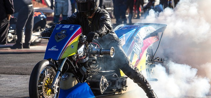 NHRA Harley Drag Racing Series : Photo Highlights from Vegas