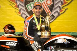 Harley V-Rod Rockets Andrew Hines to NHRA World Championship