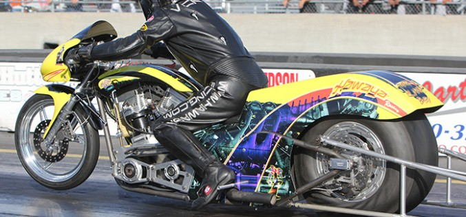 Vickers Victorious at NHRA Louisiana event