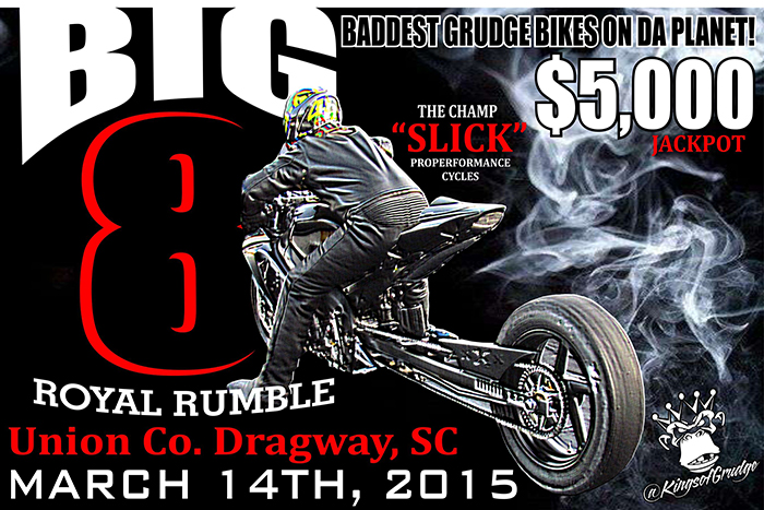 Big 8 Royal Rumble at Union County Dragway 3/14 | Dragbike.com