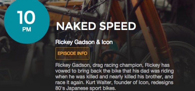 Rickey Gadson on the Velocity Channel 2/18