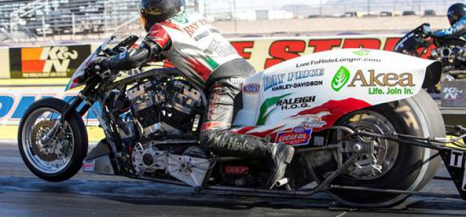 Ray Price Racing Qualifies #1 At Winternationals