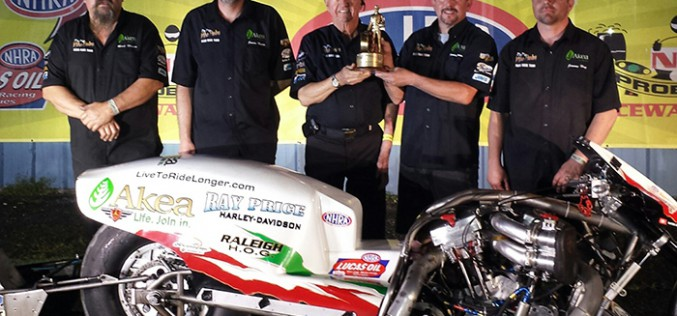 Ray Price Racing Takes Home Wally At Jegs Cajun Sports Nationals