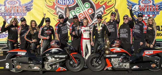 NHRA : Pro Stock Motorcycle Results from Charlotte