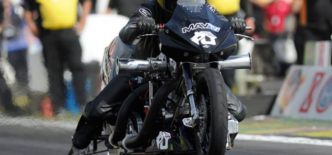 NHRA : Top Fuel Harley Results from Vegas