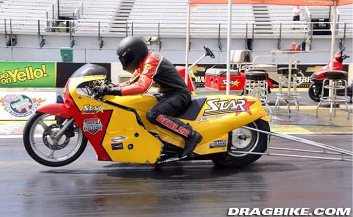 Star Racing Ryan Oehler Pro Stock Motorcycle