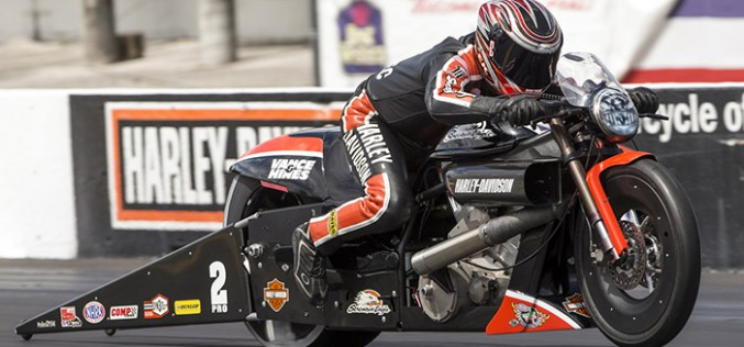 Krawiec Races V-rod To Finals In Atlanta And Pads Points Lead