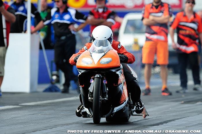 Luke Crowley  ANDRA Pro Stock Motorcycle