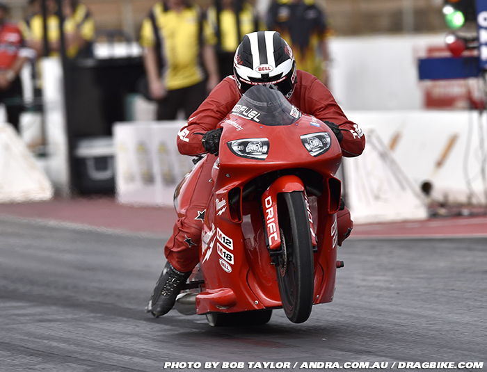 Maurice Allen ANDRA Pro Stock Motorcycle