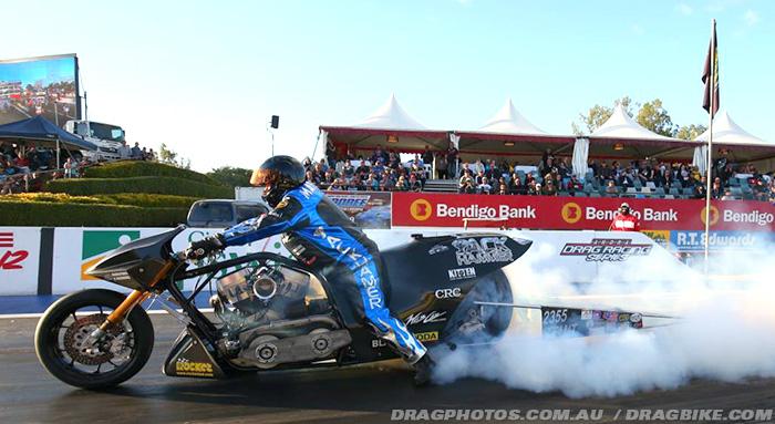 Chris Matheson Nitro Voodoo Top Fuel drag racing
