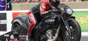 Victory Motorcycles racer Matt Smith hopes to stay hot in Texas