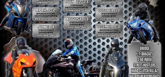 Kings of Grudge : 2016 Drag Race Schedule