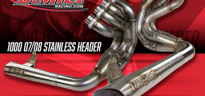 DME Racing : GSX-R1000 Custom Headers Now Available!