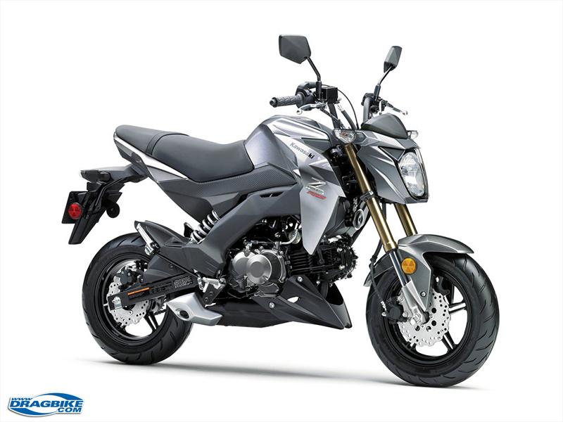 2017 Kawasaki Z125 PRO 105