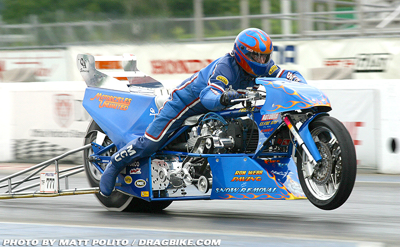 Ron Webb Top Fuel
