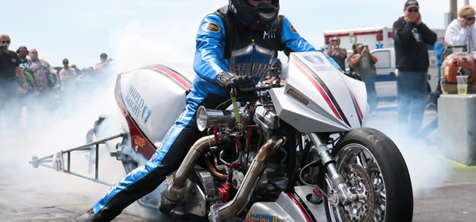Shield Bright Coatings Top Fuel Harley Team Optimistic First Outing