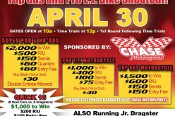 Top Gas and Pro ET Bike Shootout at Beacon Dragway 4/30