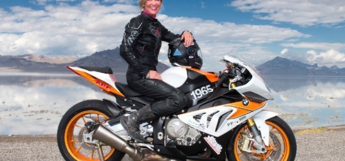 Erin Sills Races to 219.3 MPH on Her BMW S1000 RR