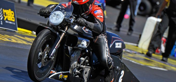 Krawiec Races V-rod to Victory In Atlanta as Harley-Davidson Screamin' Eagle Drag Team Stays Undefeated