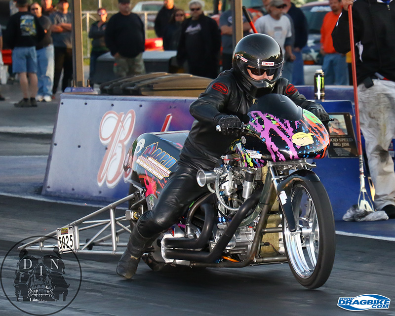 Dennis Fisher and his Rapid Mortgage P/F bike are hot for a #1 plate this year.
